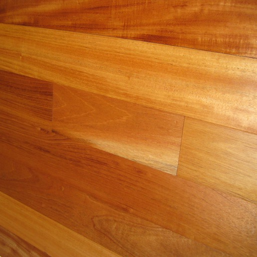 Genuine mahogany hardwood flooring prefinished for Mahogany flooring