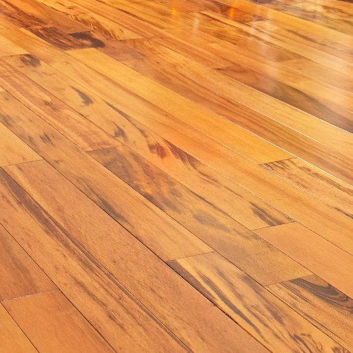 Tiger wood flooring pics floor matttroy for Prefinished hardwood flooring pros and cons