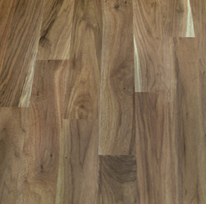 Walnut Character Engineered Unfinished Flooring
