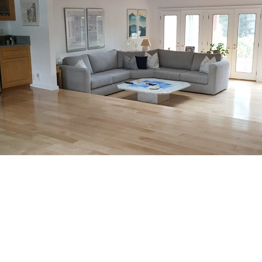 OM Maple Natural prefinished flooring rm3
