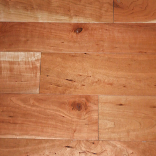Cherry Natural 4.7mm Wear Layer Engineered Unfinished Flooring