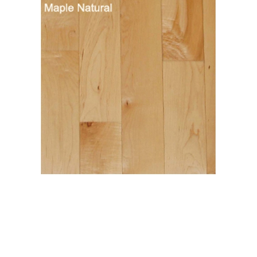 Maple Natural 4mm Wear Layer Engineered Unfinished Flooring
