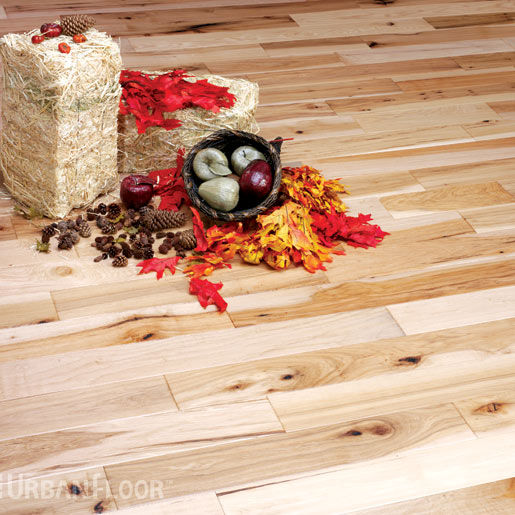 Hickory Select and Better 3.2mm Wear Layer Engineered Prefinished Flooring