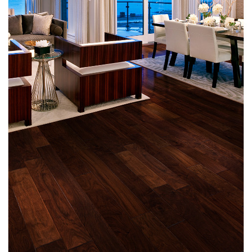 Walnut apache 1 2 x 6 x 1 3 5 39 select 2mm wear layer for Prefinished flooring